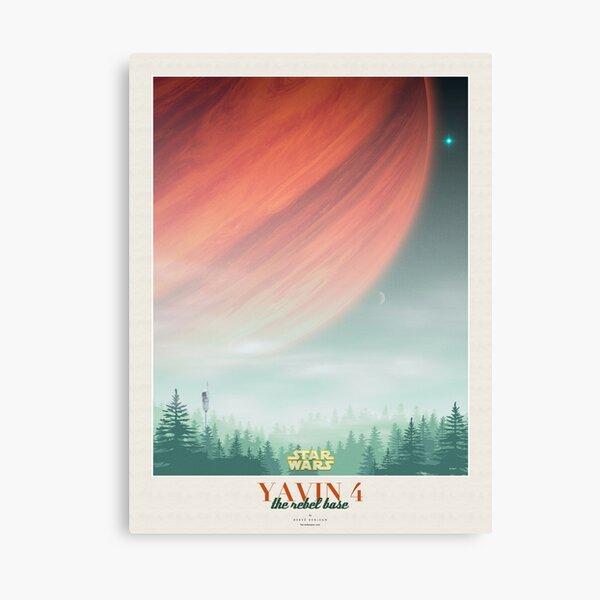 Star Wars AT-AT Movie Poster Canvas Wall Art Film Print Sci-Fi War scene Vadar