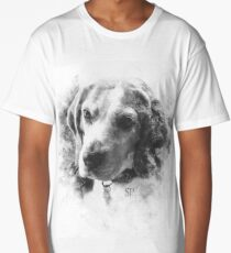 Beagle with Ink Effect Long T-Shirt