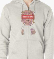 New Lil Pump Esskeetit Merchandise Zipped Hoodie