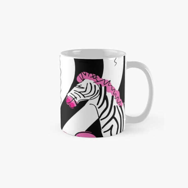 Little Pink Zebra's Dream Balloons Classic Mug