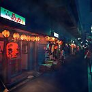Neo Tokyo - Streets of Koenji by Guillaume Marcotte