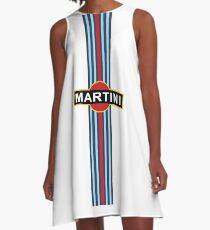 Vestido acampanado Martini Racing Stripe