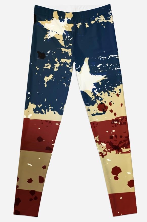 Grunge American Pariotic Flag  by CroDesign