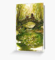 Shire Bridge (original) Greeting Card