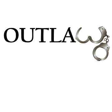 Outlaw T-Shirt  by CroDesign