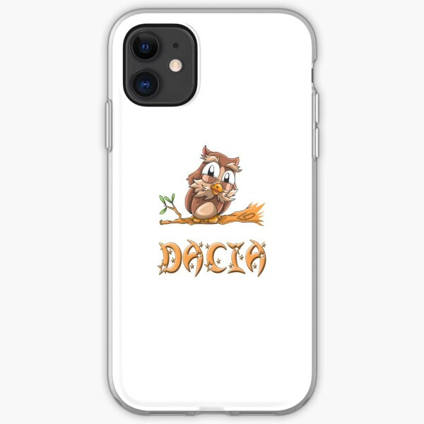 Dacia Owl iPhone Soft Case
