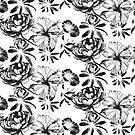 « Black peonies » par sarah buscail