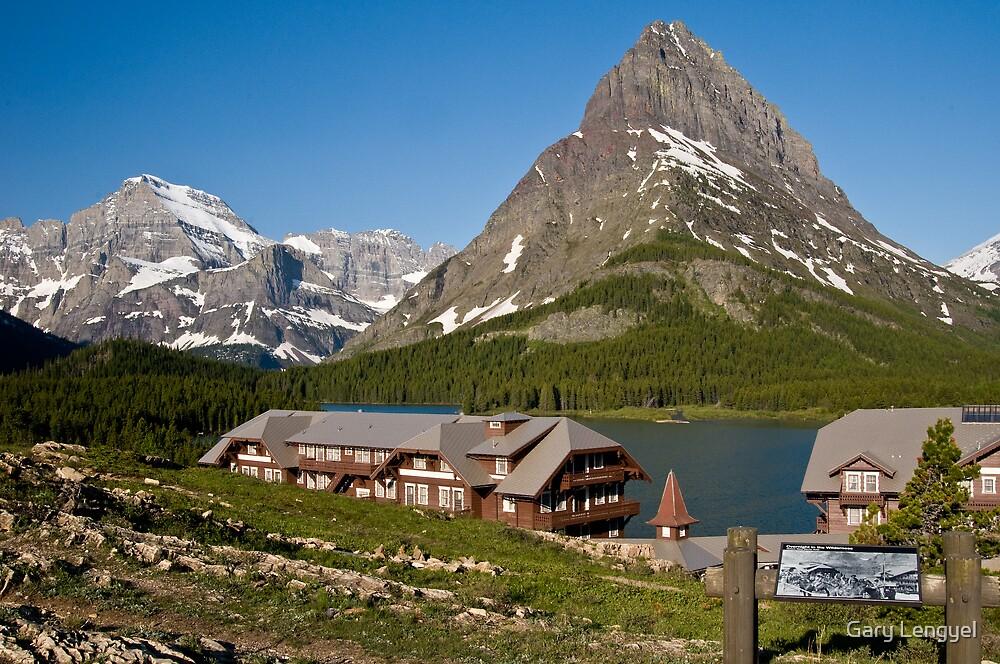 Many Glacier Hotel by Gary Lengyel