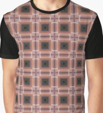 crossing lines pattern Graphic T-Shirt