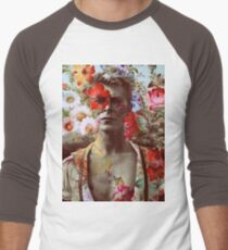 David Bowie - Greatest musicians of all time Men's Baseball ¾ T-Shirt