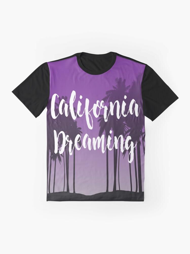 Vista alternativa de Camiseta gráfica California Dreaming