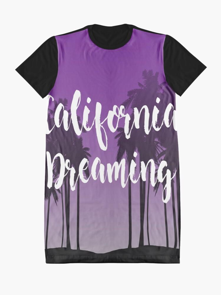 Vista alternativa de Vestido camiseta California Dreaming
