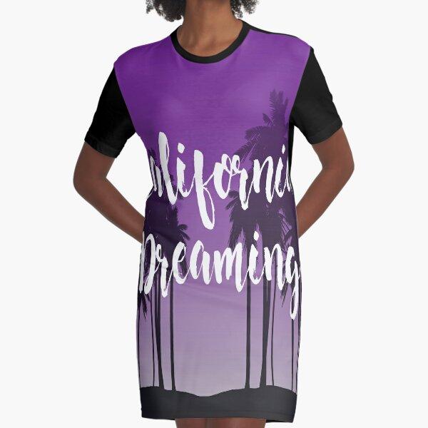 California Dreaming Vestido camiseta
