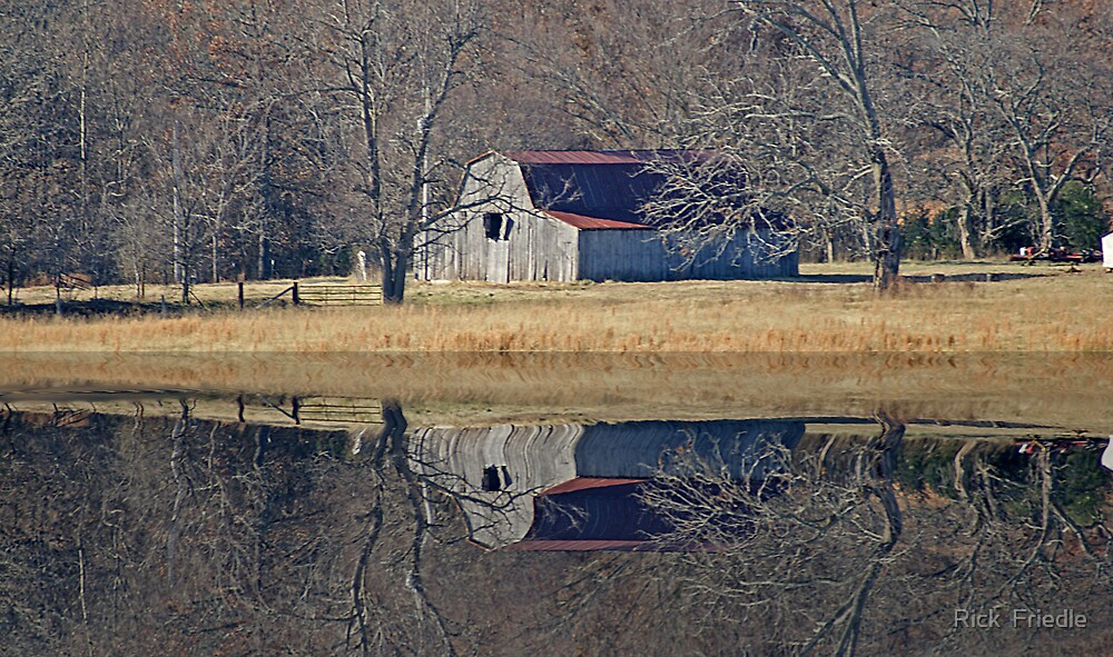 Old Barn by Rick  Friedle