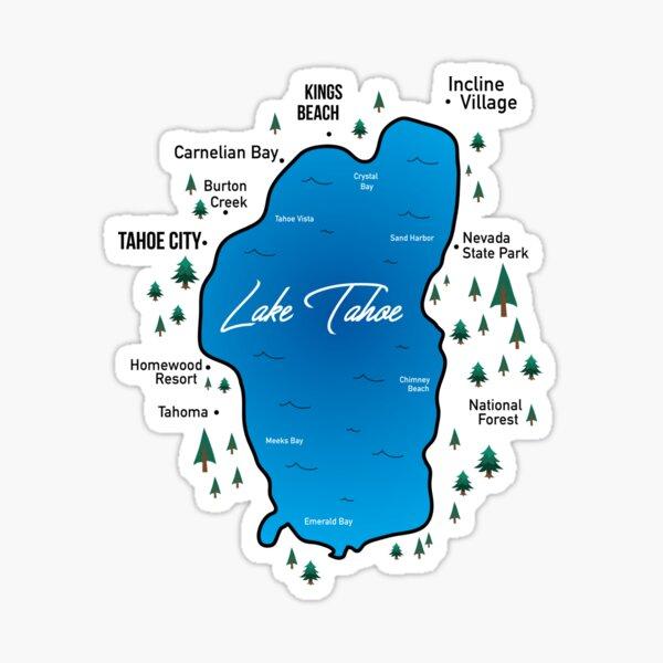 Lake Tahoe US Sticker