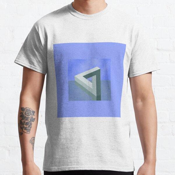 Optical Illusion, visual illusion, cognitive perception Classic T-Shirt