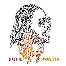 Stevie Wonder by Karotene