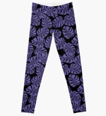 Legging Monstera ultravioleta