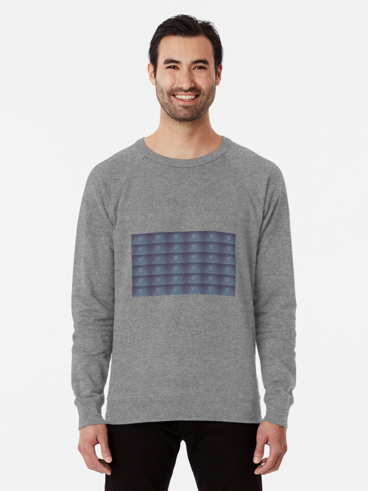 Alternate view of Life's hoodwinked illusions, cognitive distortion, getting avoid, optical illusion, typography wallpaper Lightweight Sweatshirt
