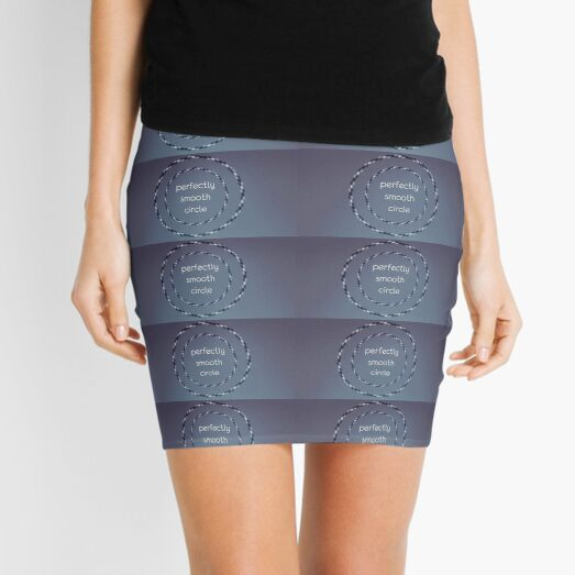 Life's hoodwinked illusions, cognitive distortion, getting avoid, optical illusion, typography wallpaper Mini Skirt
