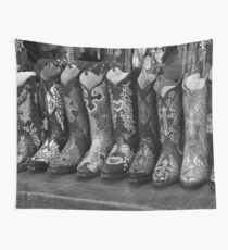 Cowboy Boots Wall Tapestry