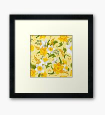 One Daffodil Is Too Few! Framed Print