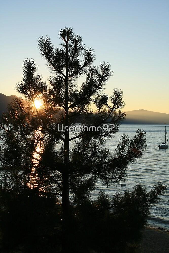 Gorgeous Lake Sunset by Username92