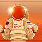 The Martian Hello by Mauro Balcazar