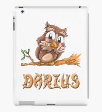 Darius Owl iPad Case/Skin