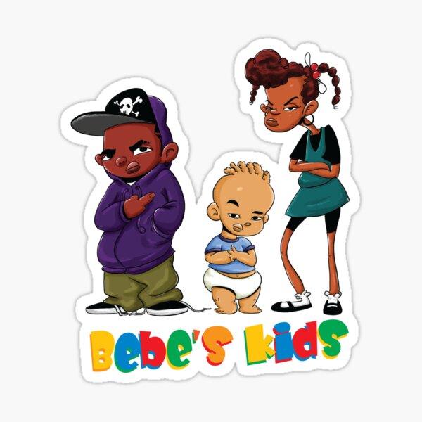 Speak No Evil Bebe S Kids Jamika Robin Leon Sticker By Vetch Redbubble