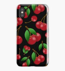 Just picked sweet cherries iPhone Case