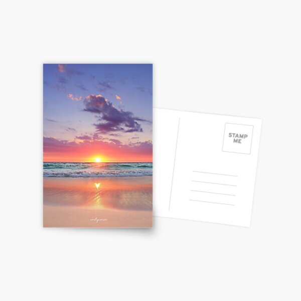 Heart Reflection Postcard