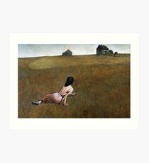 Le monde de Christina - Andrew Wyeth Impression artistique