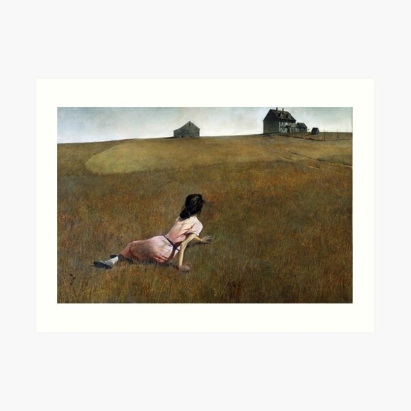 Christina's World - Andrew Wyeth Art Print