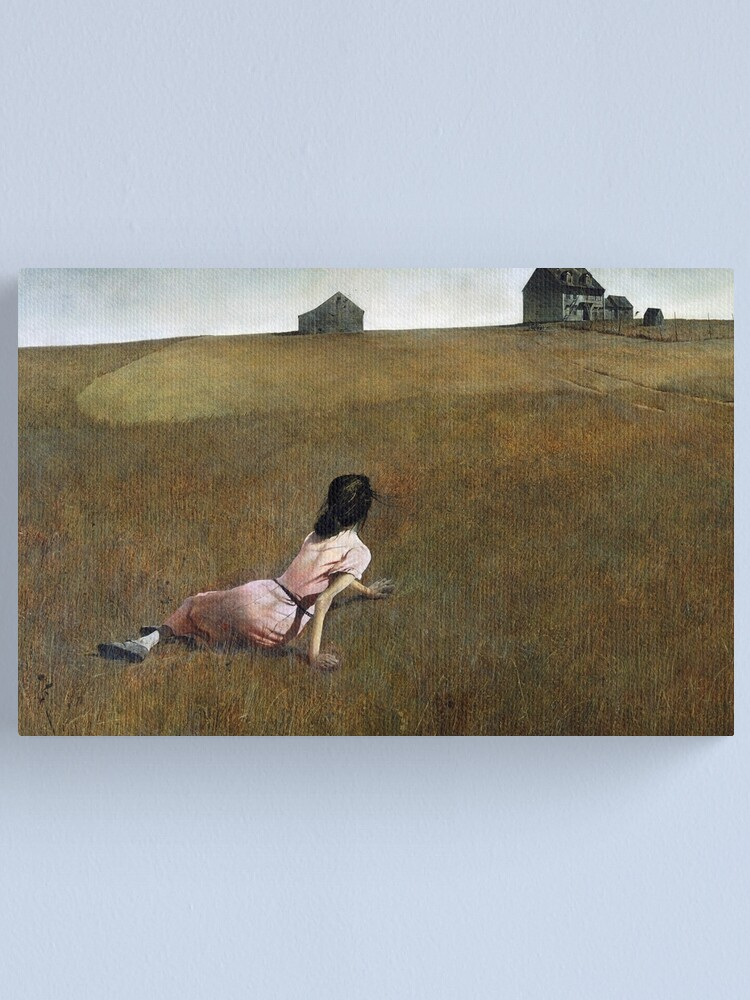 Alternate view of Christina's World - Andrew Wyeth Canvas Print