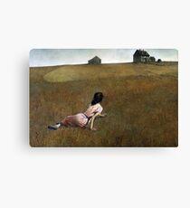 Christina's World - Andrew Wyeth Canvas Print