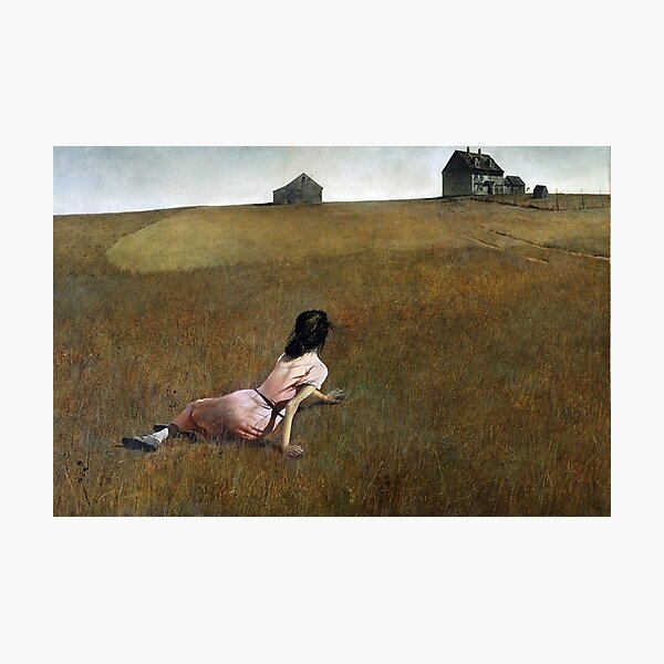 Christina's World - Andrew Wyeth Photographic Print