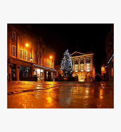 Merry Christmas from York Photographic Print