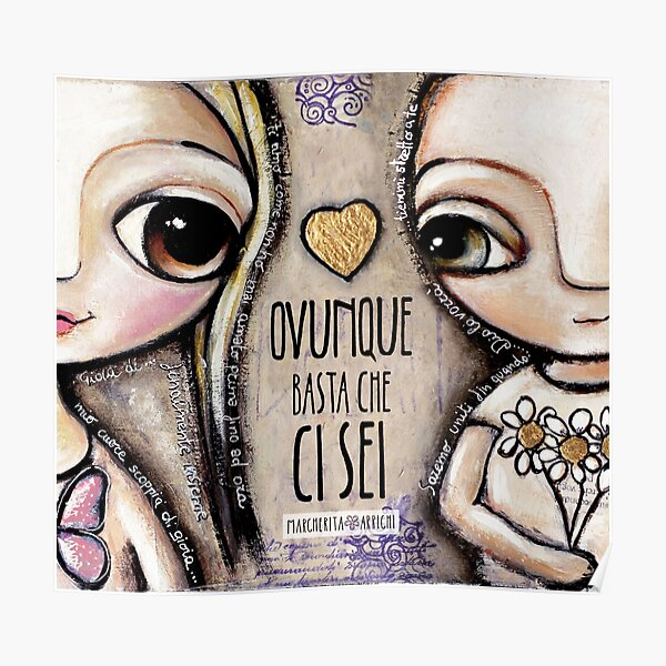Child Lovers with big eyes Poster