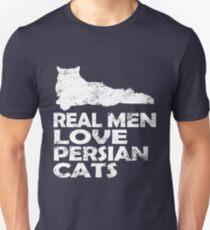 Real Men Love Persian Cats Unisex T-Shirt
