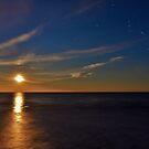 Full Moon Rising South Carolina by Leon Heyns