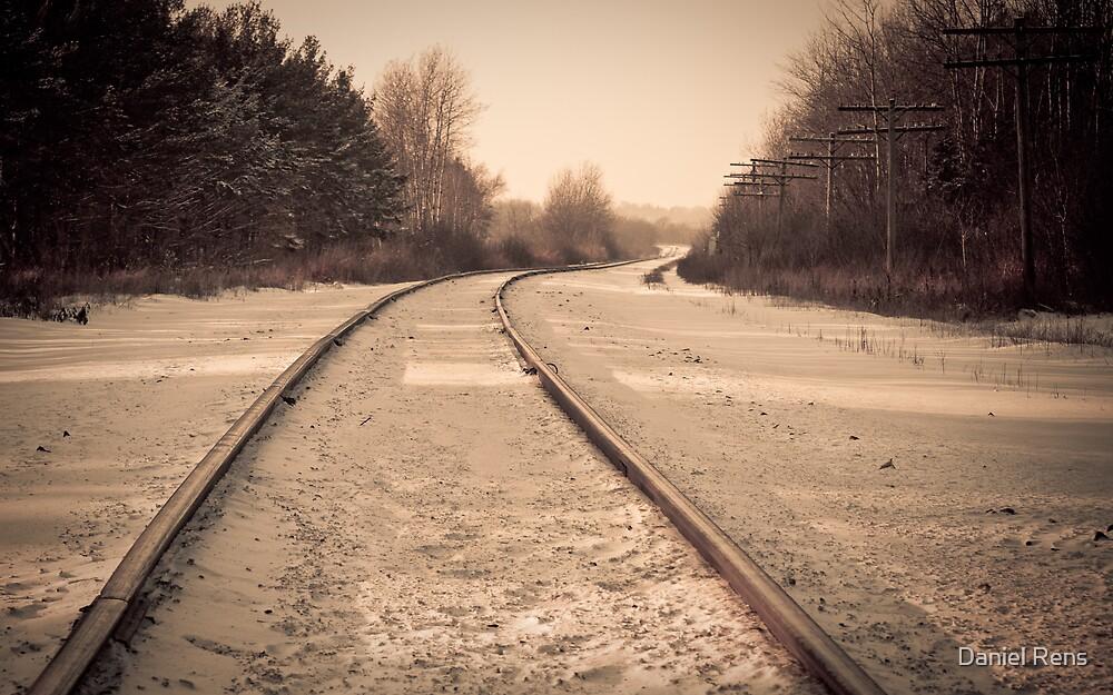 Railroad I by Daniel Rens