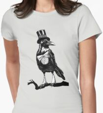 Dandy crow Women's Fitted T-Shirt