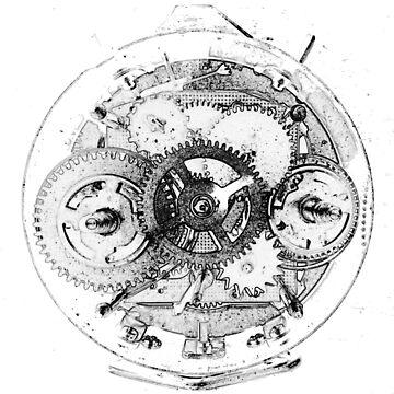 Clockwork - Black and White by SalvorHardin