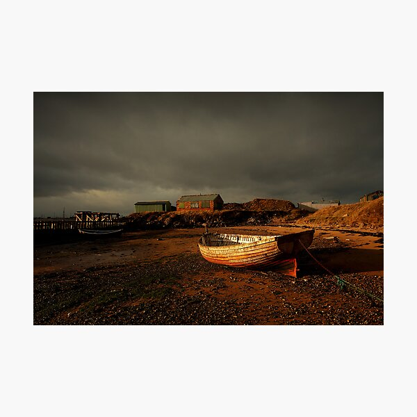 South Gare Boats Photographic Print