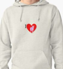 Love Licorne Pullover Hoodie