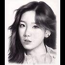 Girls' Generation Taeyeon Kim by kuygr3d