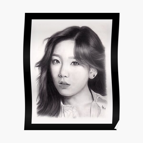 Girls' Generation Taeyeon Kim Poster