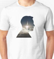 Elon Musk Launch Silhouette Unisex T-Shirt