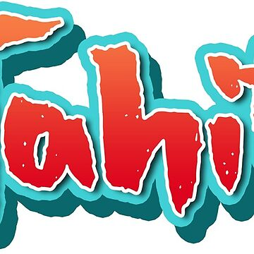 Tahiti Brush Typography by divotomezove